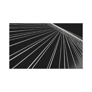 Wadi Laban Bridge Canvas Print