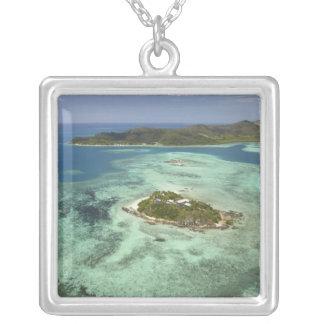 Wadigi Island, Mamanuca Islands, Fiji Silver Plated Necklace