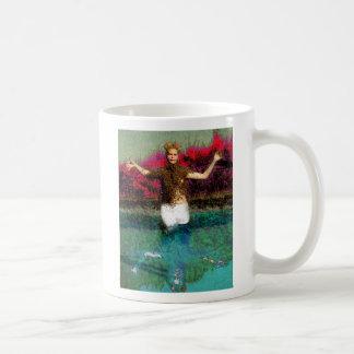 wading basic white mug