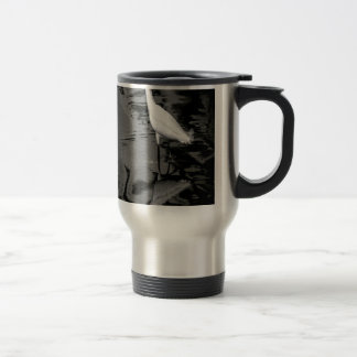 Wading Egret Coffee Mugs