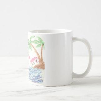 Wading Flamingos Coffee Mug