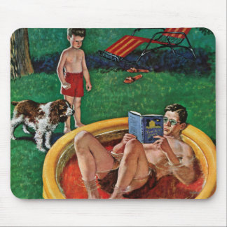 Wading Pool Mouse Pad