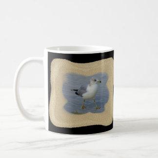 Wading Seagull 1 Basic White Mug