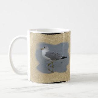 Wading Seagull 1 Classic White Coffee Mug