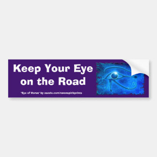 WADJET EYE OF HORUS Fantasy Bumper Sticker