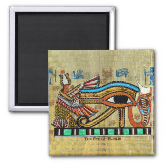 WADJET EYE OF HORUS on Papyrus Gift Magnet