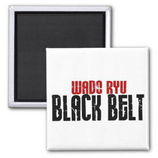 Wado Ryu Black Belt Karate Magnet
