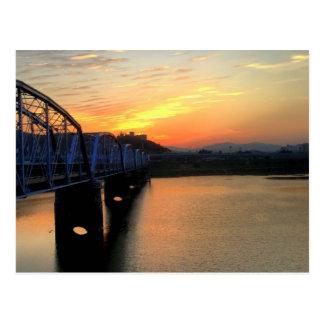 Waegwan Bridge Postcard