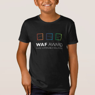 WAF Award Official Kid T-Shirt (Black)