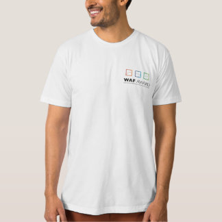 WAF Award Official Men T-Shirt (Small Logo white)