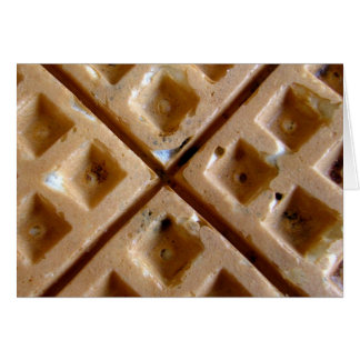 Waffle Greeting Cards