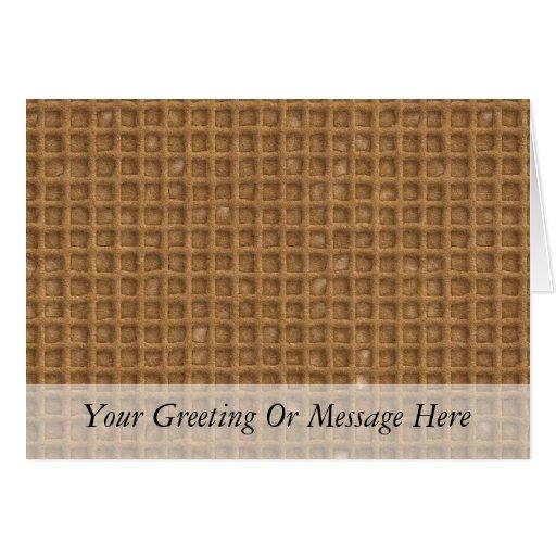 Waffle Cone Greeting Card