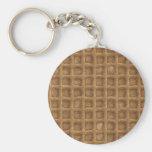 Waffle Cone Keychains