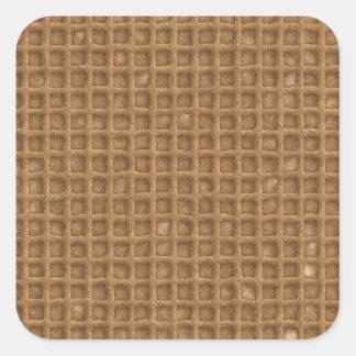 Waffle Cone Square Sticker