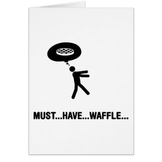 Waffle Lover Greeting Card