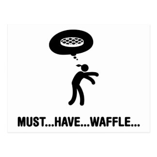 Waffle Lover Postcards