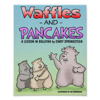 Waffles and Pancakes Poster
