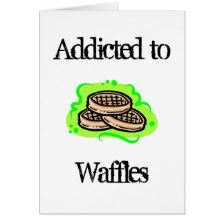 Waffles Greeting Cards