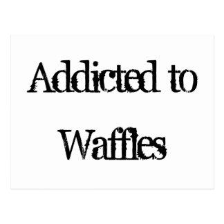 Waffles Post Card