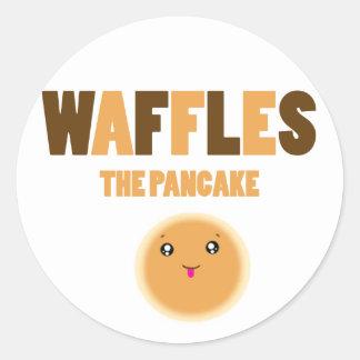 waffles the pancake stickers