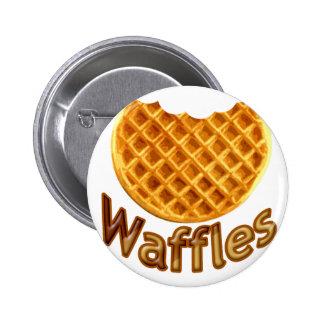 Waffles Yum Button