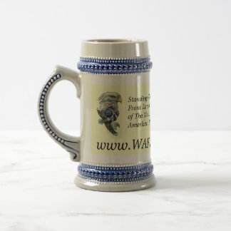 WAFS-TV America s Free Speech Network - Stein Coffee Mug