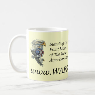 WAFS-TV: America's Free Speech Network -Coffee Mug