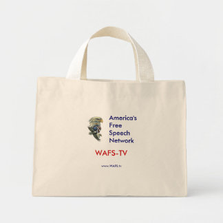 WAFS-TV: America's Free Speech Network - Tote Tote Bag