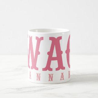 Wag Wannabe Pink Vintage Hiking Duck Coffee Mug