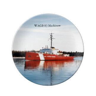 WAGB 83 Makcinaw red decorative plate