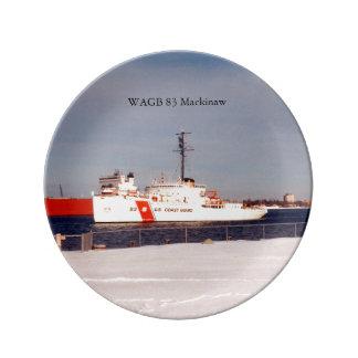 WAGB 83 Makcinaw white decorative plate