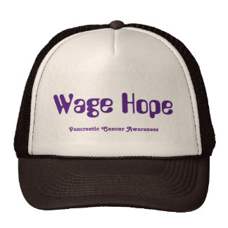 Wage Hope Trucker Hat