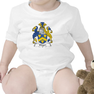 Wager Family Crest Shirts