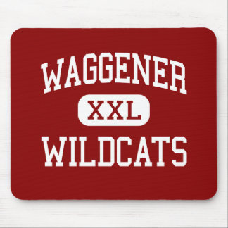 Waggener - Wildcats - Traditional - Louisville Mouse Mat
