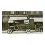 Wagner Baking Company Delivery Truck Poster