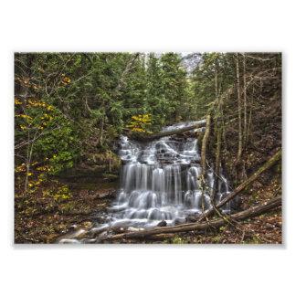 Wagner Falls, Michigan Photo Print