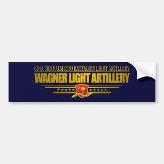 Wagner Light Artillery Bumper Sticker
