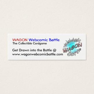 WAGON Webcomic Battle Cards