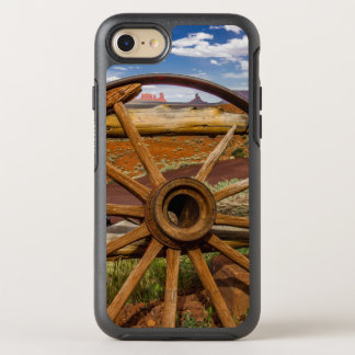 Wagon wheel close up, Arizona OtterBox Symmetry iPhone 7 Case