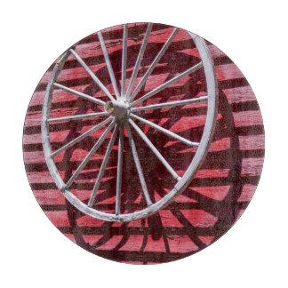 Wagon Wheel Cutting Board