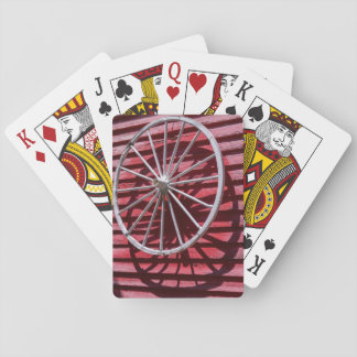 Wagon Wheel Playing Cards