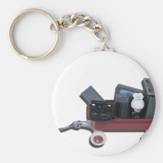 WagonOldTechnology111112 copy.png Basic Round Button Key Ring