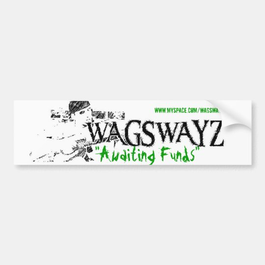 wags2 - Customised Bumper Sticker