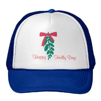 WagsToWishes_Mistletoe_Happy Holly Days Cap