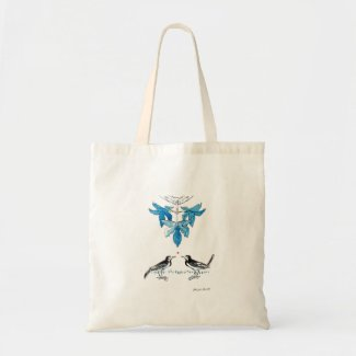 Wagtails Tote Bag