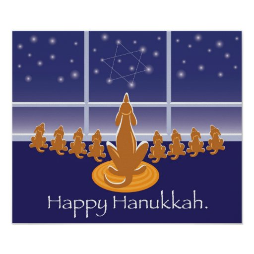 WagToWishes_Menorah Dogs poster