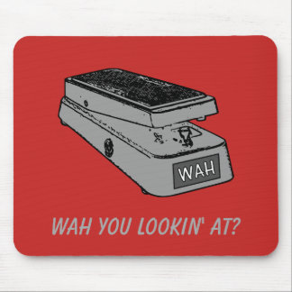 Wah You Lookin' At? Mouse Mat