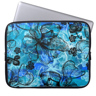 Wahine Lace Hawaiian Neoprene Wetsuit Laptop Sleeve
