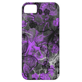 Wahine Lace Hawaiian Orchid iPhone 5 Case