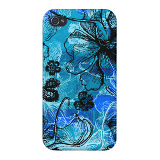 Wahine Lace Hawaiian Savvy iPhone 4 Cases